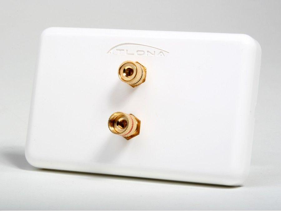 AT80020 HIGH-QUALITY WALL PLATE FOR 1 SPEAKER by Atlona