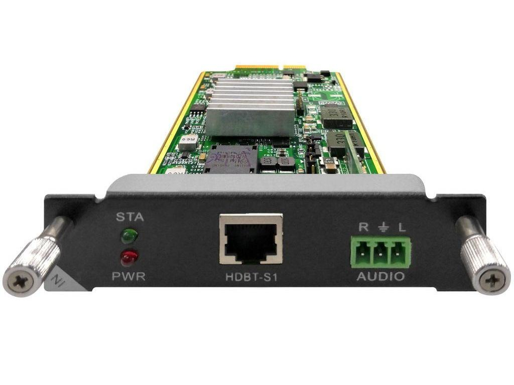 DXCI-1-HDBT1-G4 1 port HDBaseT Input Card up to 220ft by Aurora Multimedia