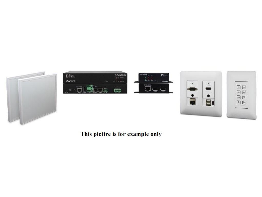 ORC-3C-W Complete ORC-3 Kit with Ethernet/ Host side USB/ Web control (White) by Aurora Multimedia