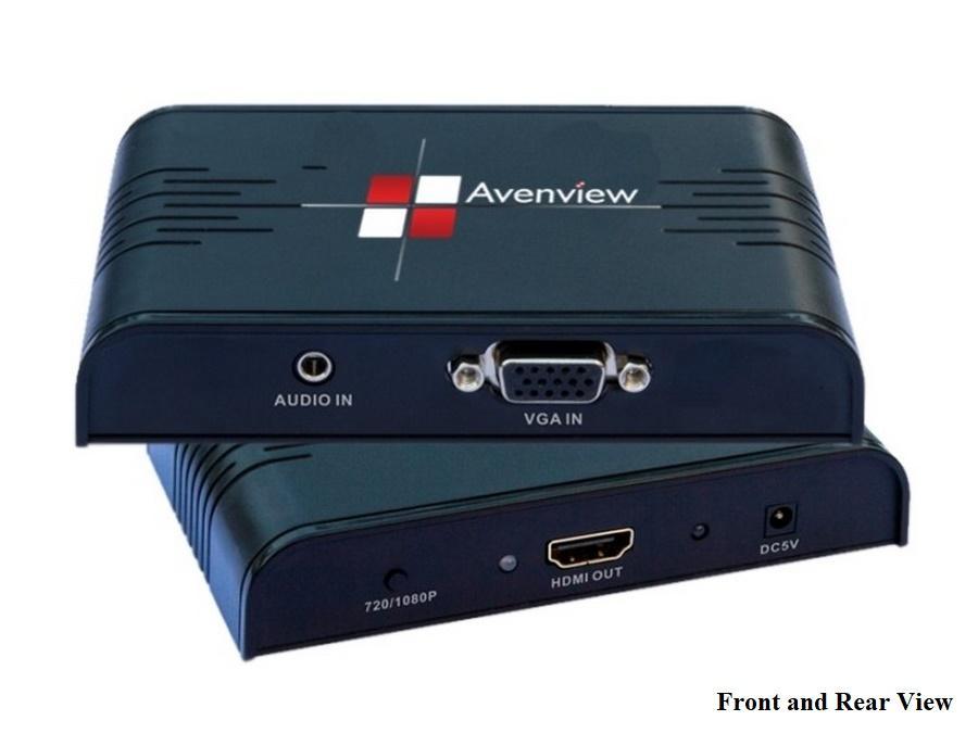 C-VGA-HDM VGA Scaler Converter to HDMI by Avenview
