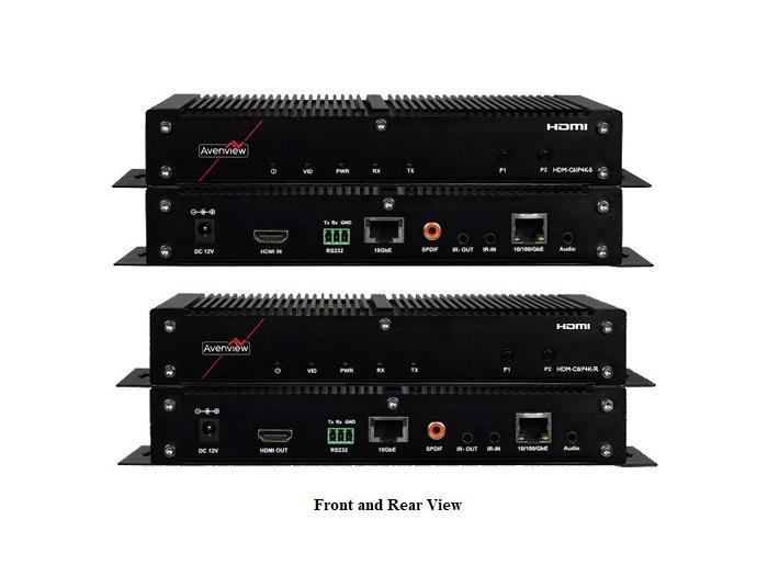HDM-C6IP4K-SET HDMI Ultra-HD (4K2K) IP Extender (Transmitter/Receiver)Set Over CATX by Avenview