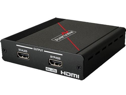 SC-HDM-HD42K 4K UHD HDMI Scaler with local 1080P output by Avenview
