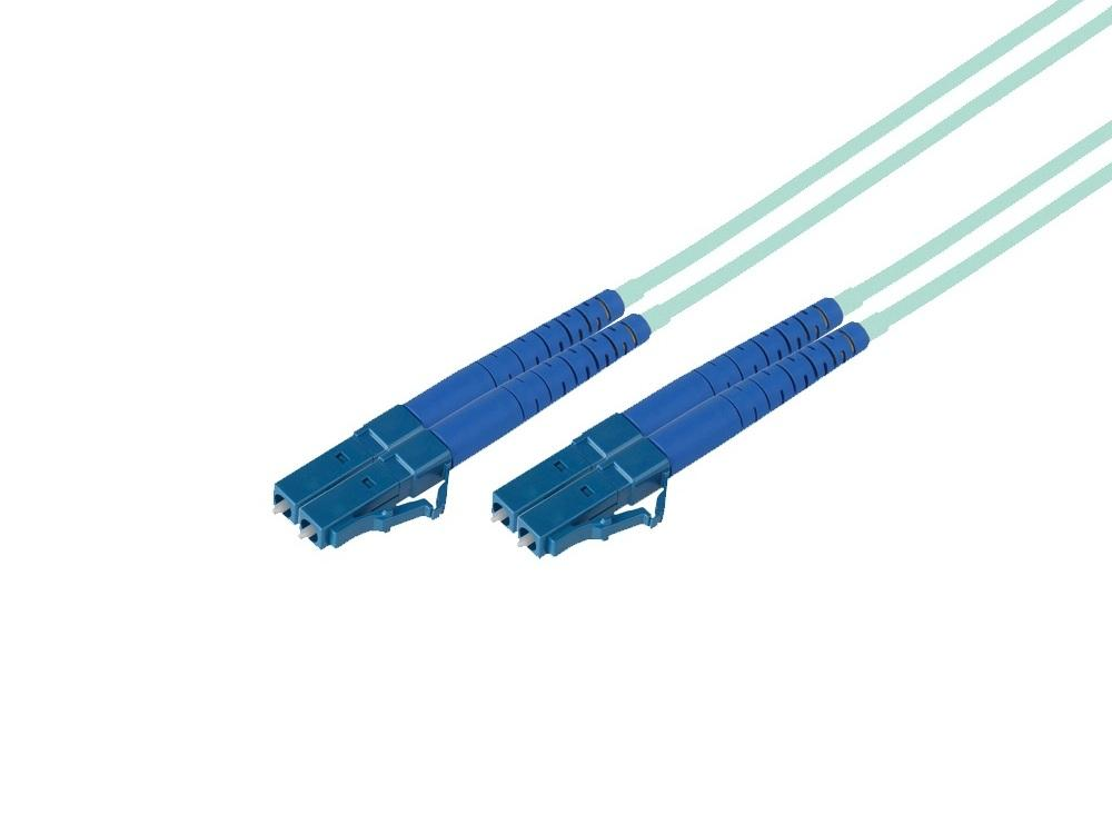 FO-MMD-LC-LC-20 66ft LC to LC OM3 10Gb 50/125 Duplex fiber optic cable by Avenview