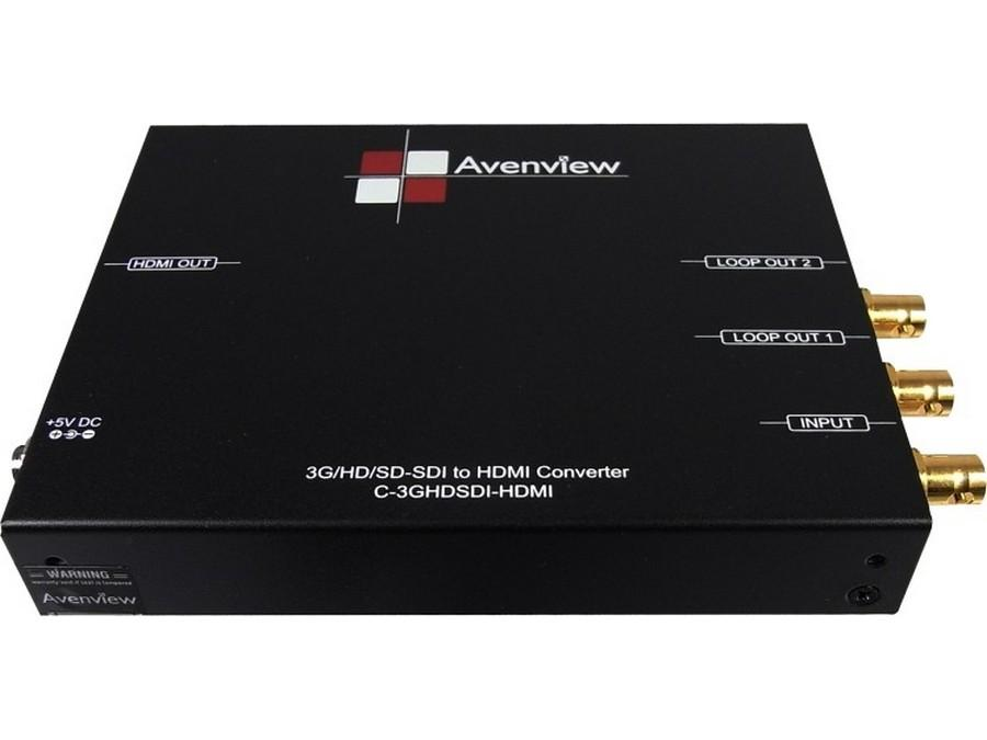 C-3GHDSDI-HDM 3G/HD/SD-SDI to HDMI Converter by Avenview