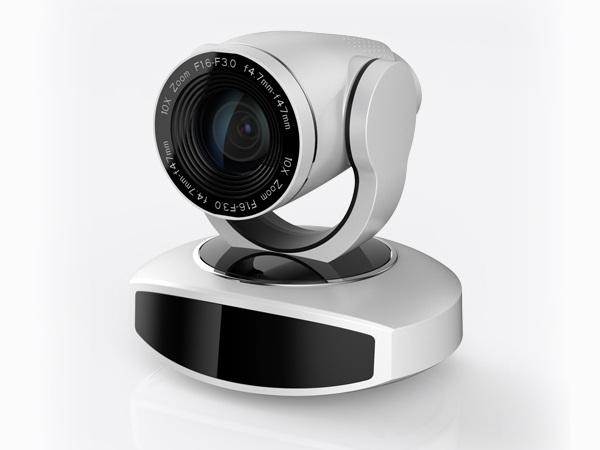 AV-1082W 2.07MP Full HD 1080p 10x Optical Zoom Camera with USB3.0 and LAN Outputs/White by Avipas