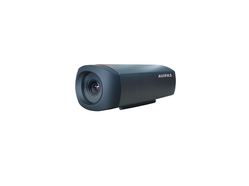 AV-1161 2.14MP 5x Optical Zoom HD-SDI Box IP Camera with LAN Outputs/PoE/Dark Gray by Avipas