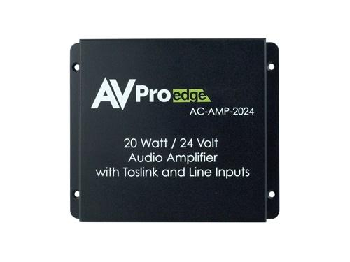AC-AMP-2024 20W/24V Digital/Analog Stereo Audio Amplifier with Toslink and Line Inputs by AVPro Edge