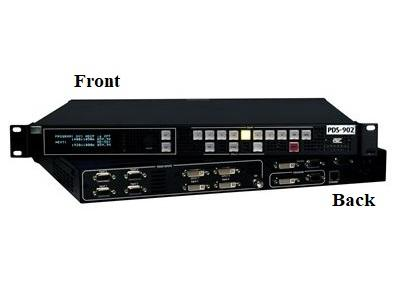 R9004692 PDS-701 3G 7x1 DVI/SDI Low-cost high-quality screen switch by Barco