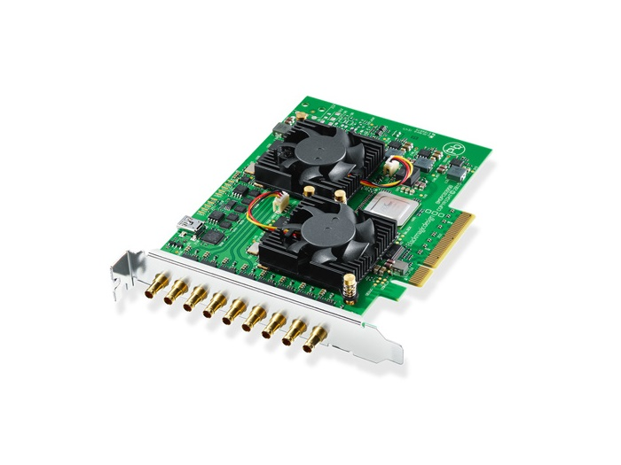 BMD-BDLKDVQD2 DeckLink Quad 2 8-Channel 3G-SDI Capture and Playback Card by Blackmagic Design