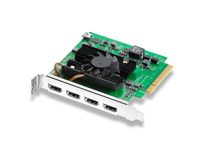 BMD-BDLKDVQDHDMI4K DeckLink Quad HDMI Recorder Capture Card by Blackmagic Design