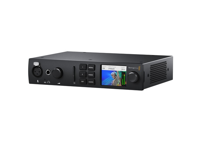 BMD-BDLKULSDMINI4K UltraStudio 4K Mini Thunderbolt 3 Capture and Playback Unit by Blackmagic Design