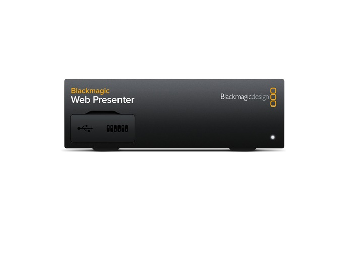 BMD-BDLKWEBPTR Blackmagic Web Presenter by Blackmagic Design