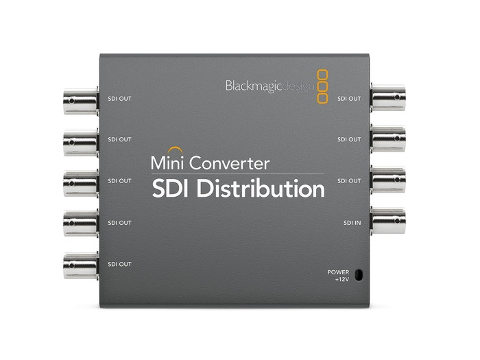 BMD-CONVMSDIDA Mini Converter - SDI Distribution by Blackmagic Design