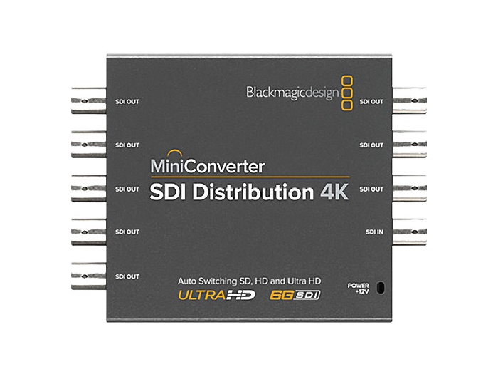 BMD-CONVMSDIDA4K Mini Converter - SDI Distribution 4K by Blackmagic Design