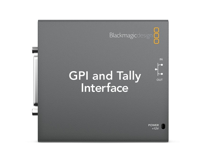 BMD-SWTALGPI8 GPI and Tally Interface by Blackmagic Design