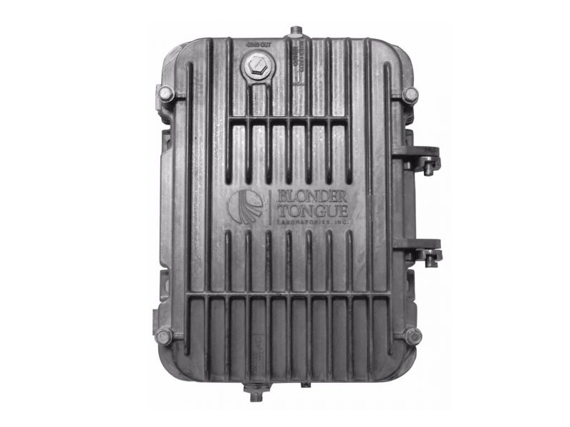 BODA 86A-40P 40 dB/54-860 MHz/Power Doubling/Active Return/5-42 MHz Broadband Outdoor Distribution Amplifier by Blonder Tongue