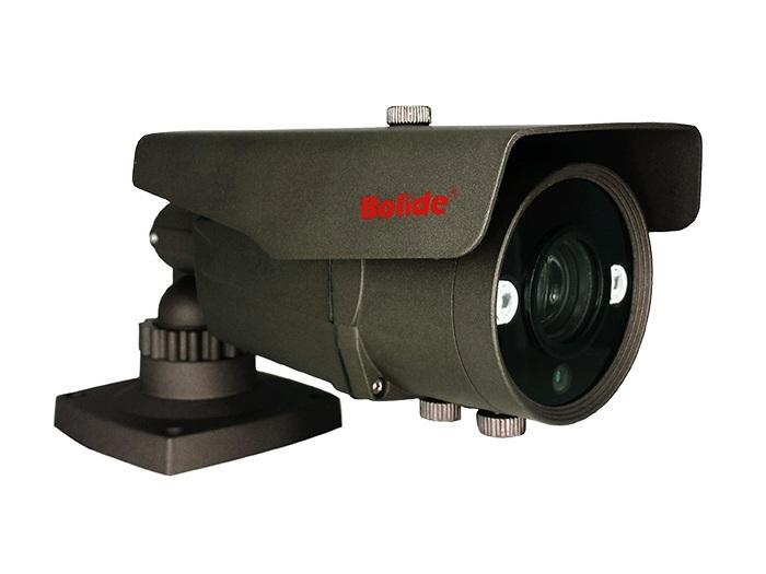 BC1137AH 1.0 Megapixel IR Metal Bullet Hybird Camera Varifocal 6-60mm/12VDC/Dark Grey by Bolide