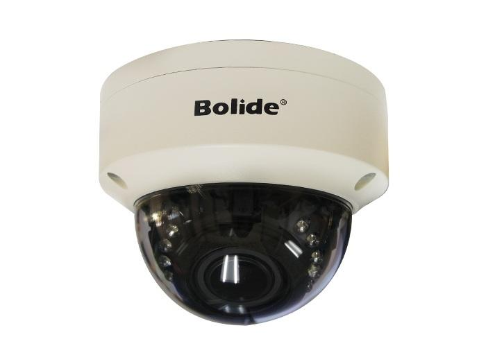 BC1209AVAIR/AHQ 2.0MP HD 4 in 1 1080P IR White Vandal Dome Camera/2.8-12mm lens by Bolide