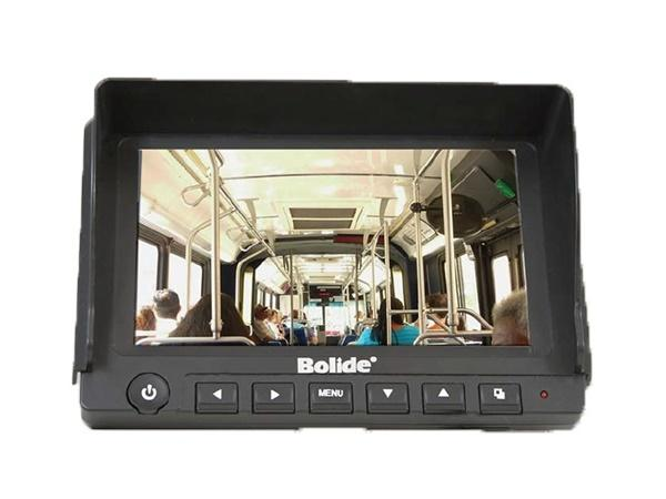 BV8010 10 inch Mobile Monitor with Sun Visor/Bracket/2-Ch Video/Audio by Bolide