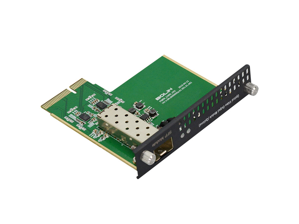 BC-9-VC-OS6 6G-SDI Optical Video Card for 9 Series PTZ Camera by Bolin Technology