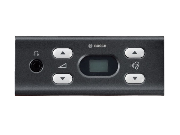 DCN-FCS-D Flush Channel Selector/Dark by Bosch