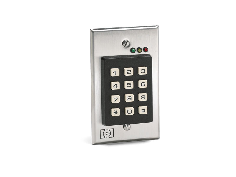212i Indoor Flush Mount Access Control Keypad by BZB