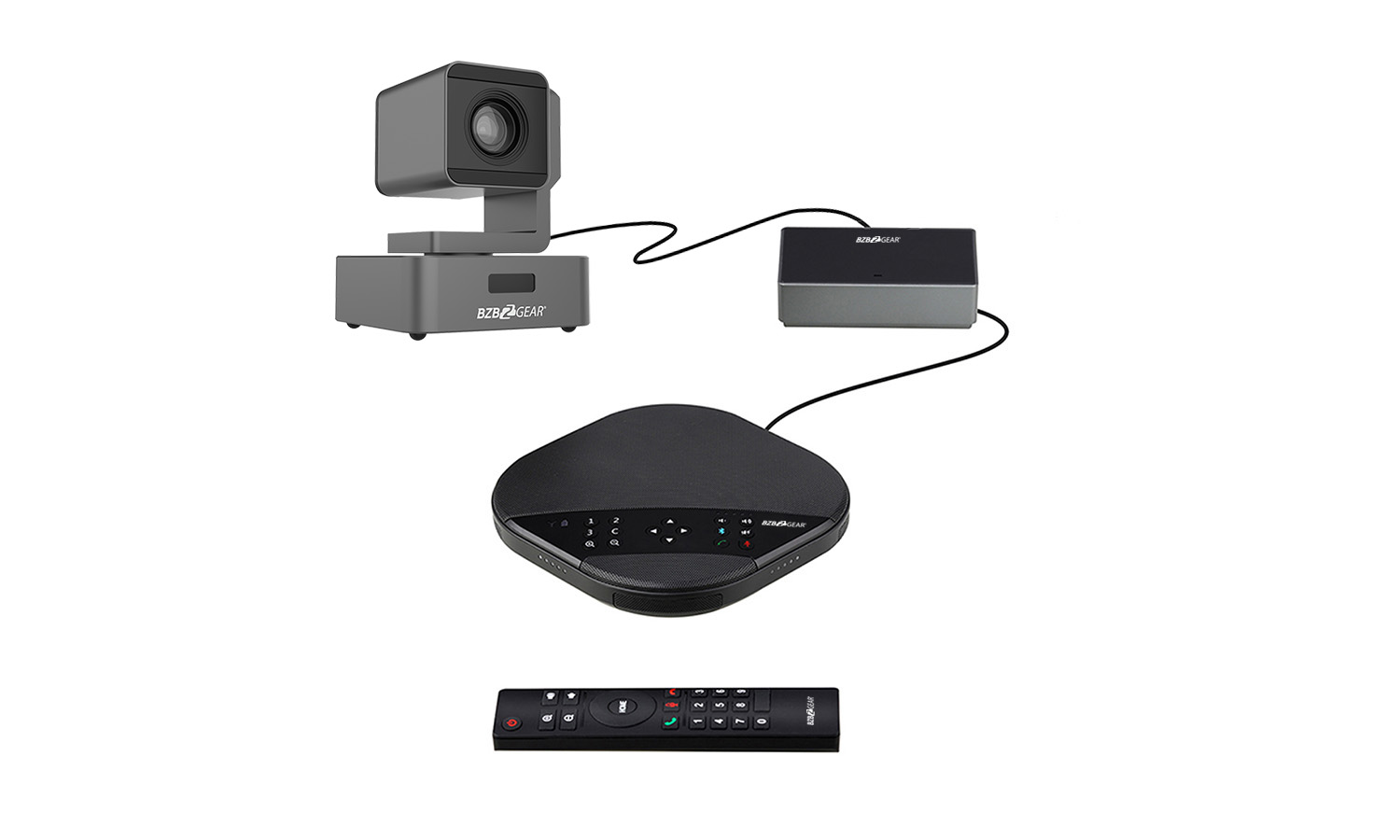 BG-AIO-KIT Conferencing Kit with PTZ Camera and Speakerphone by BZBGEAR