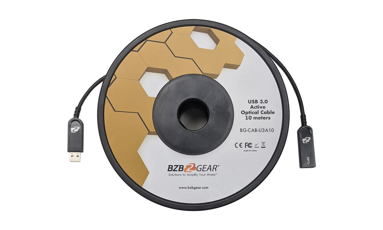 BZBGEAR BG-CAB-U3A USB 3.0 AM/AF Active Optical Extension Cable