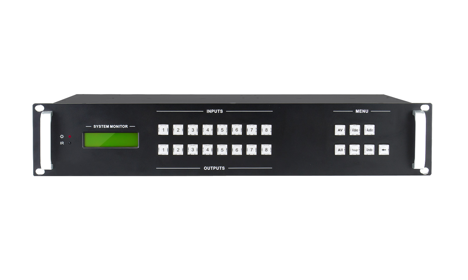BG-MS-8X8-DVI Modular 8X8 Seamless DVI Matrix Switcher w/TCP/IP RS232 Control by BZBGEAR