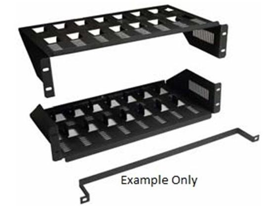 CT-7PK-D12 Multi Device Rackmount Shelf/For 7 DIRECTV D12 Units by Cabletronix