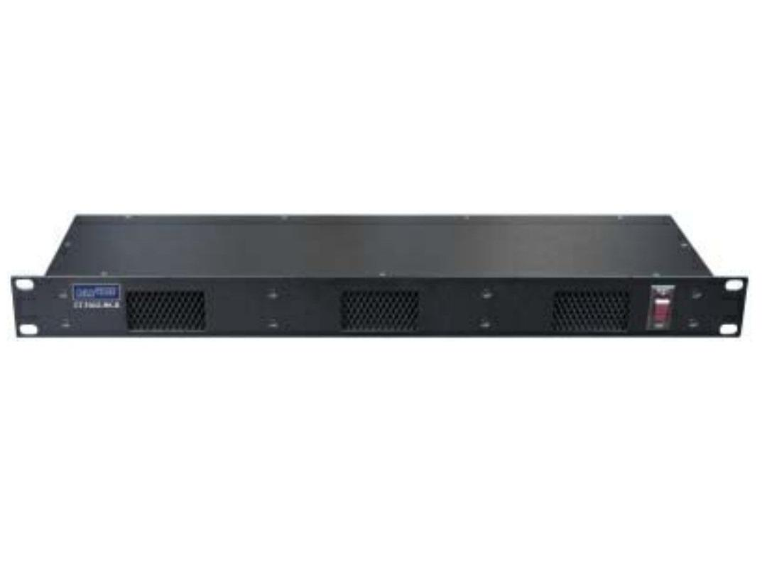 CT-FAN3-RK-B Triple Fan Rackmount Fan/Air in from bottom up by Cabletronix