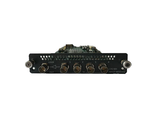 12G-SDI Input Module 12G-SDI Input card with Loop Out for HQPro1000 by Calibre