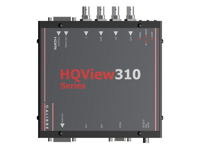 HQView310 DVI/HDMI/Component to DVI/HDMI scaler by Calibre