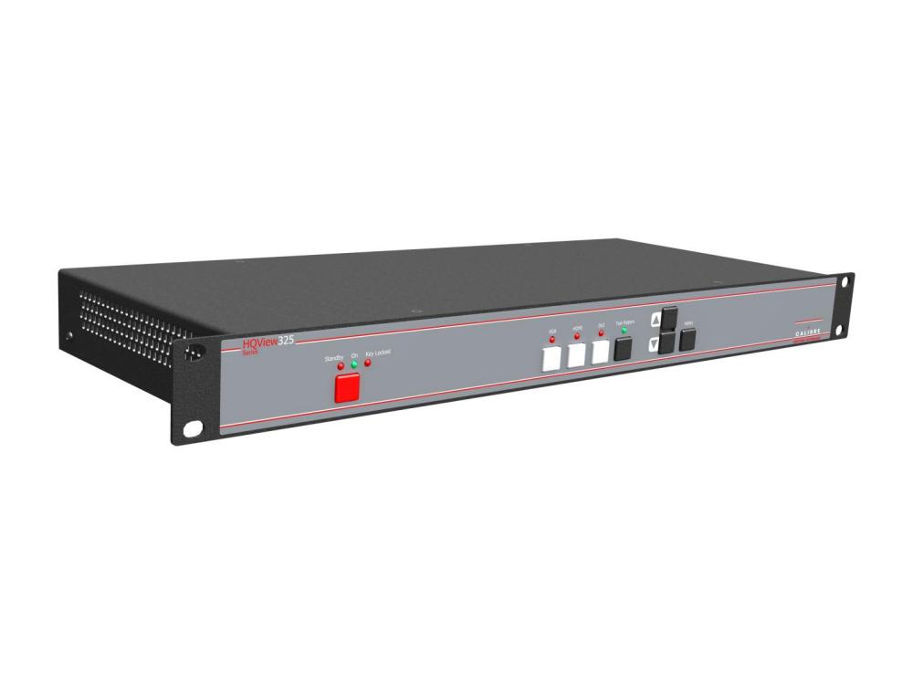 HQView325 Rackmount DVI/HDMI to DVI/HDMI scaler with Full Warp Mapping by Calibre