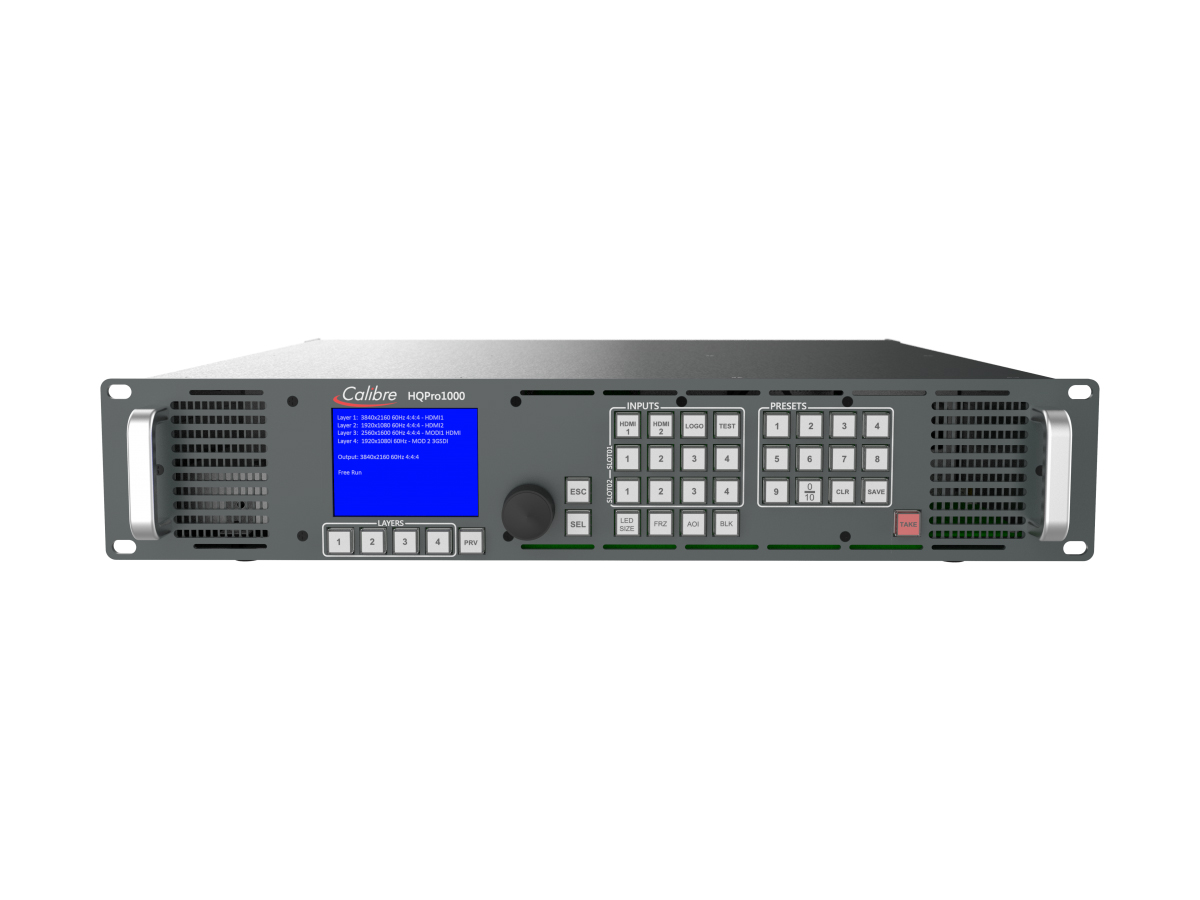 LEDView730SV 4K DMI/DisplayPort LED Scaler with ultra-fast input switching by Calibre