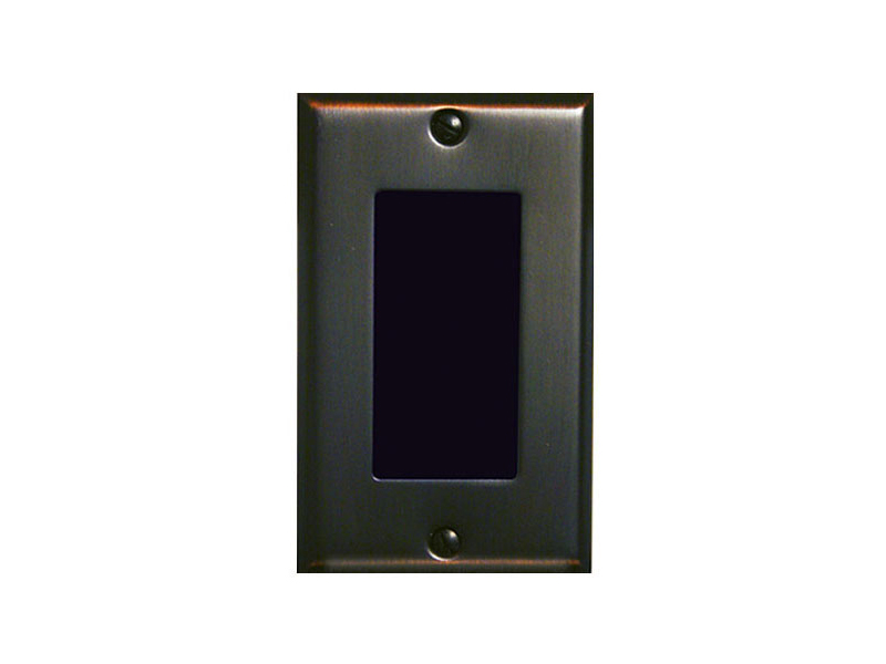 6204-252 Single Gang Box Hi-Res WDR Color Camera with Cover/Oil Rubbed Bronze Finish by Channel Vision
