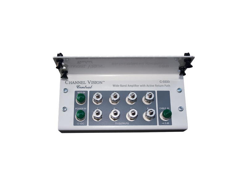 C-0333 8 Output Bi-Directional Amplified Splitter Module by Channel Vision