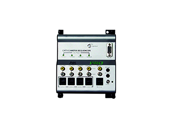 P-6014 4x2 Sequencer/Switcher for Color CAT5 Cameras with IR and Serial control by Channel Vision