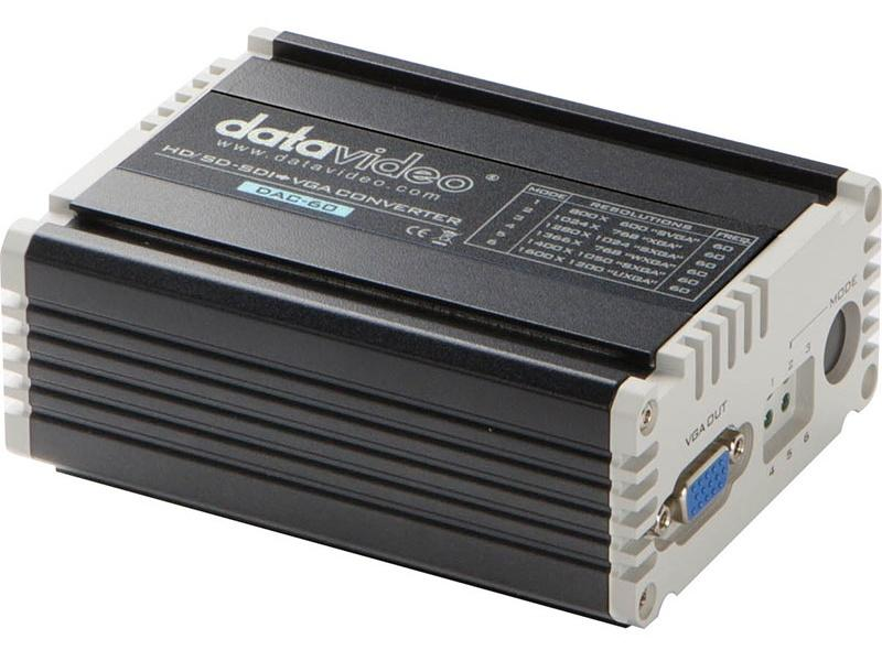 DAC-60 HD/SD-SDI to VGA Converter by Datavideo
