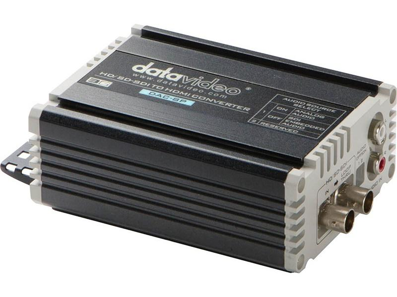 DAC8P HD/SD-SDI to HDMI 1080p/60 Converter by Datavideo