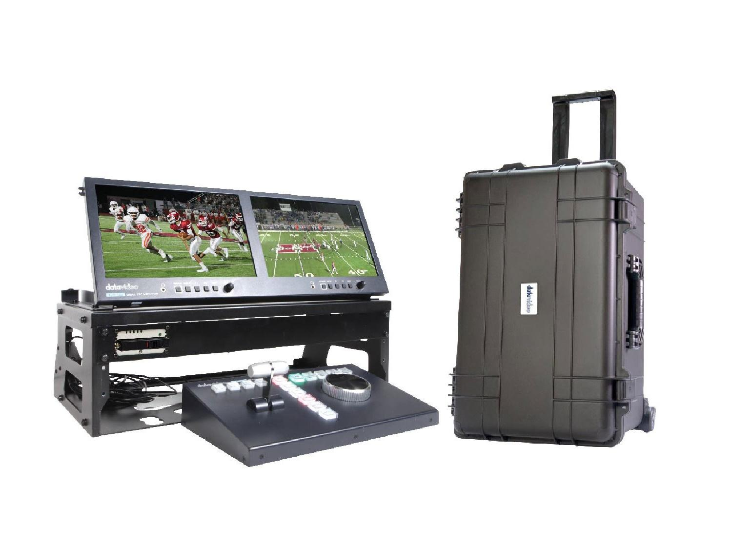 GO-1REPLAY STUDIO Complete Replay Kit with Rolling Case by Datavideo