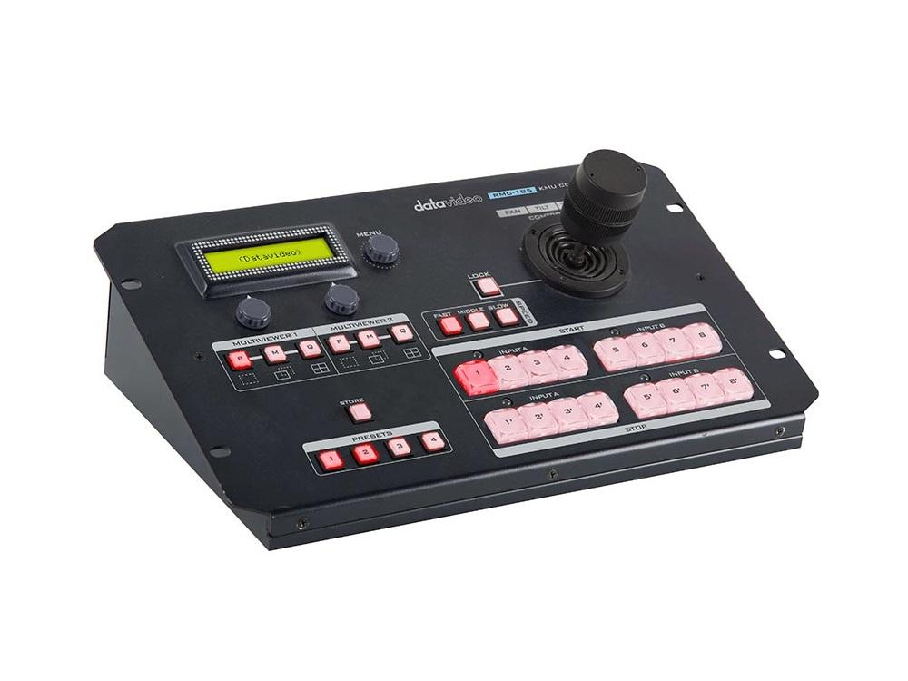 RMC-185 Control unit for KMU-100 with joystick and preset buttons by Datavideo