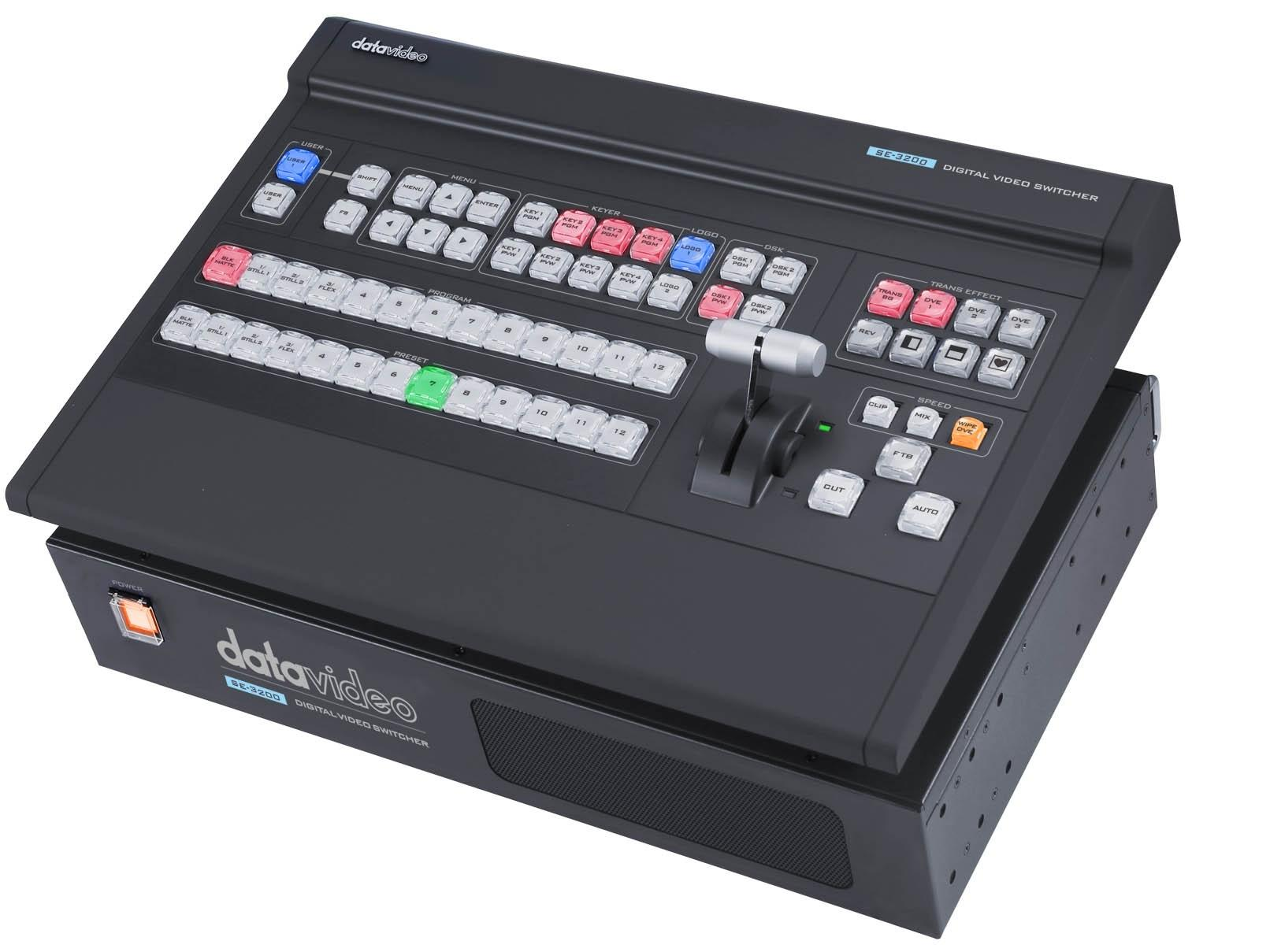 SE-3200 HD 12-Channel Digital Video Switcher by Datavideo