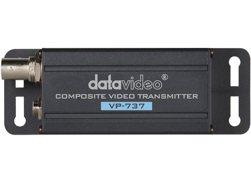 VP-737 Composite Signal Extender/Repeater (Transmitter/Receiver) Kit by Datavideo