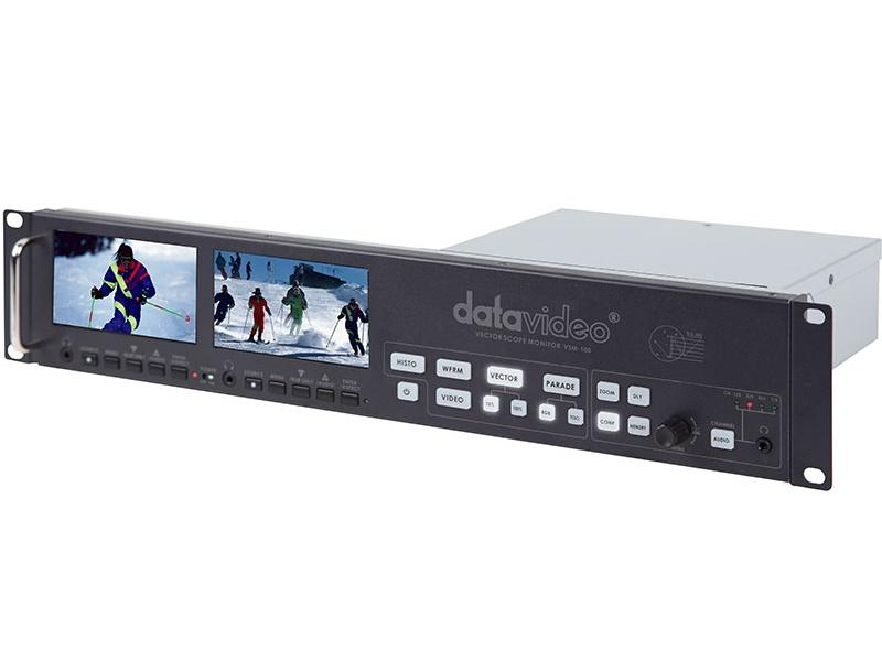 VSM100 Sampling Vector Scope Monitor by Datavideo