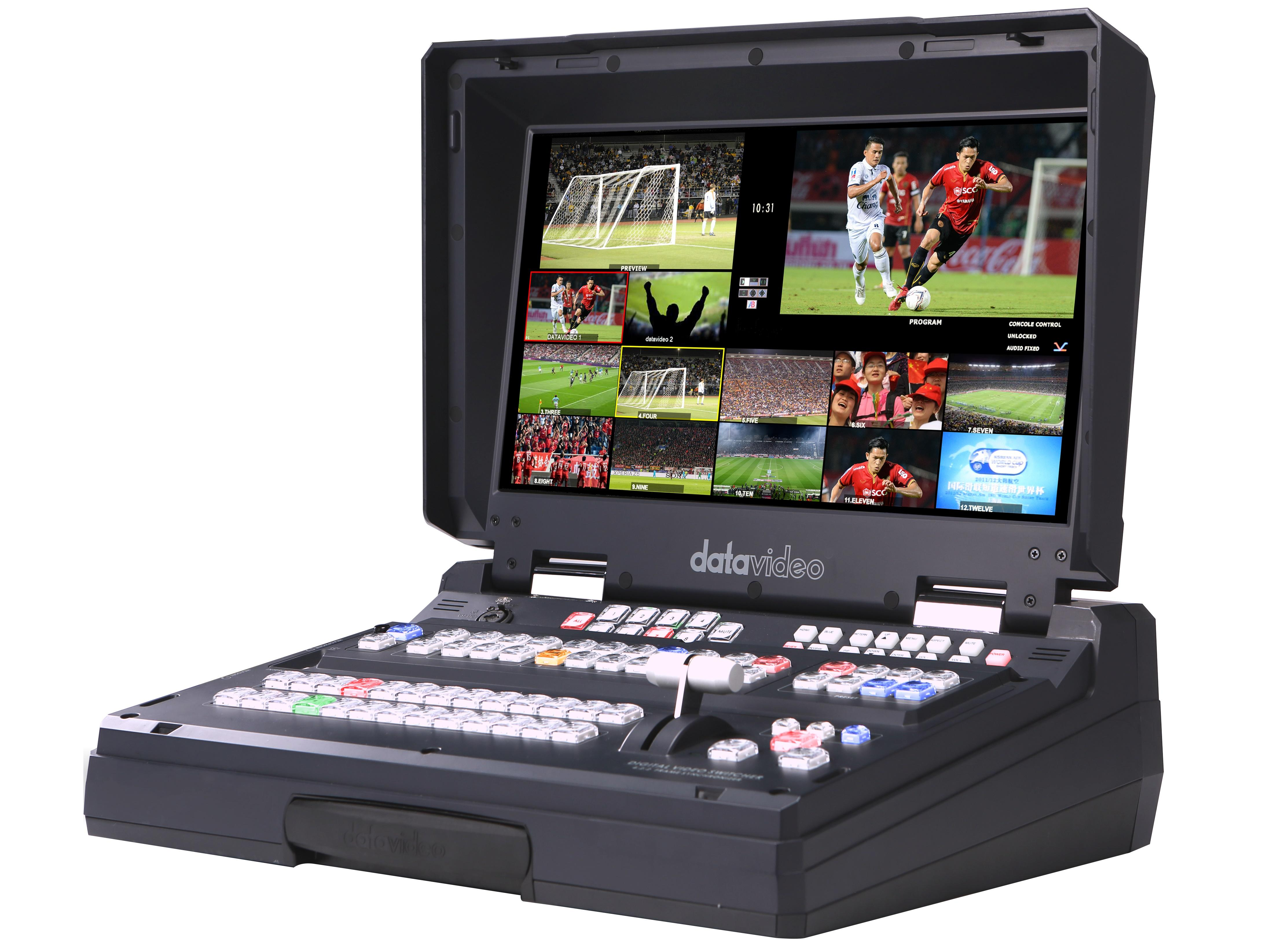 HS-2850-12 HD/SD 12-Channel Portable Video Studio by Datavideo