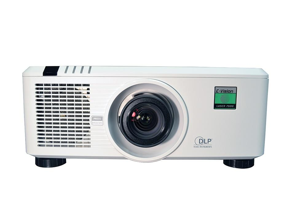 E-Vision LASER 7500 Solid State Laser Phosphor Digital Projector/7500 Lumens/Contrast Ratio 4000:1 by Digital Projection