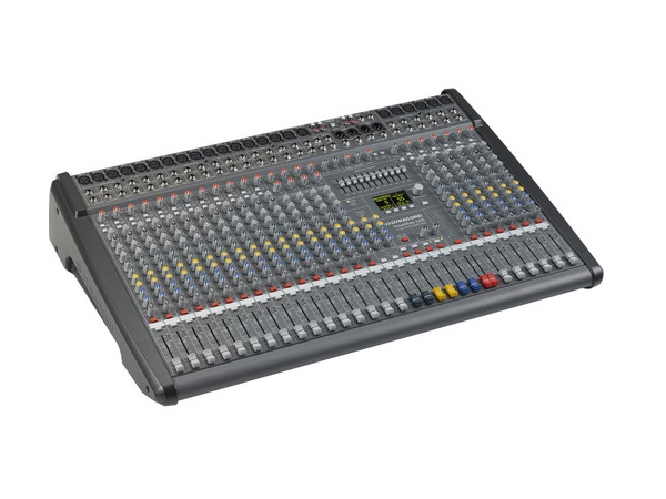 DC-PM2200-3-UNIV 22 Channel Powered Mixer (18 x Mic/Line/4 x Mic/Stereo-Line) by Dynacord