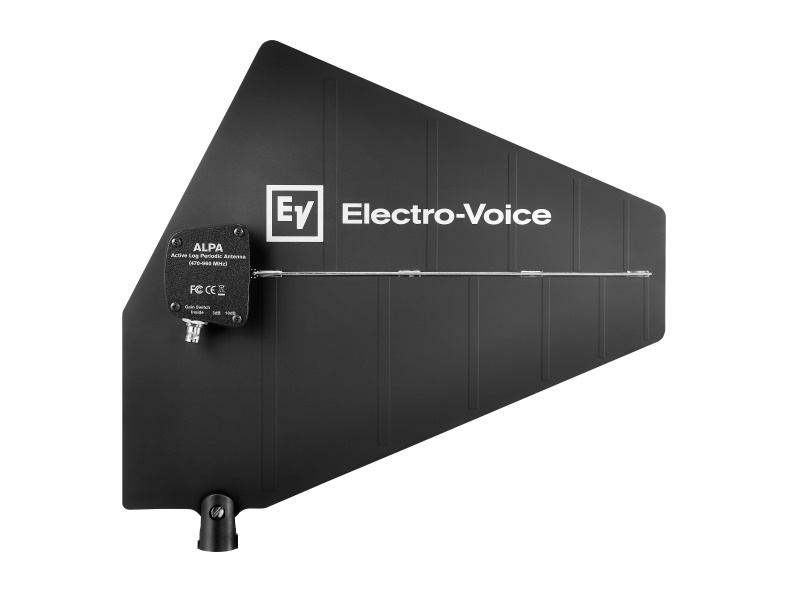 RE3ACCALPA Active Log Periodic Antenna/470-960MHz by Electro-Voice