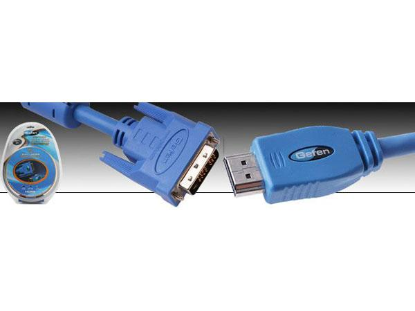 CAB-DVI2HDMI-LCK-10MM DVI to HDMI Locking Cable 10 ft (M-M) by Gefen
